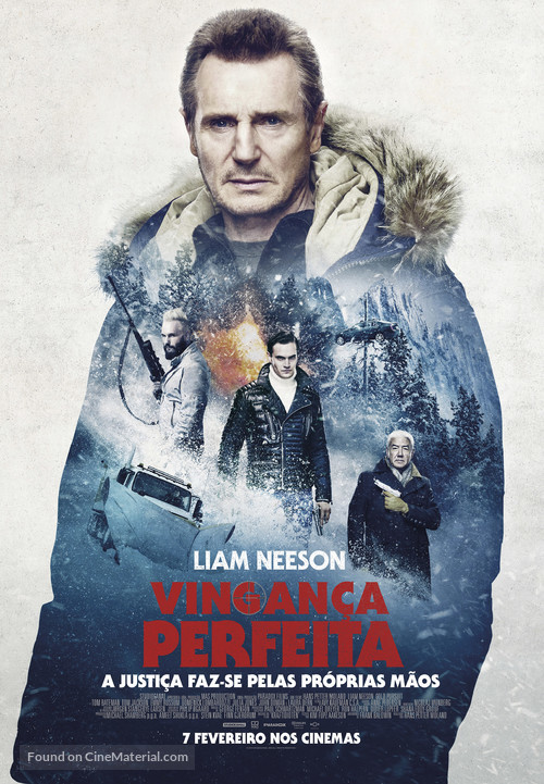Cold Pursuit - Portuguese Movie Poster