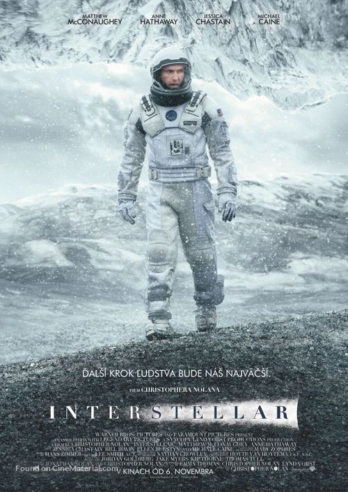 Interstellar - Slovak Movie Poster