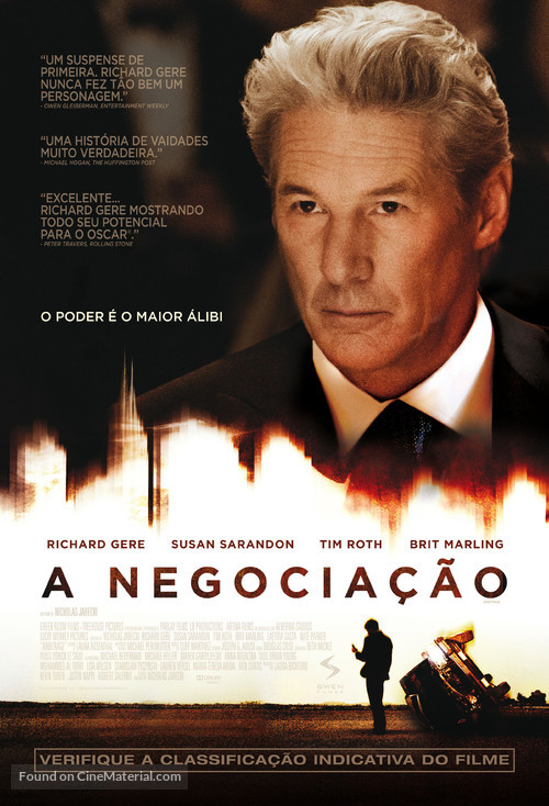 Arbitrage - Brazilian Movie Poster