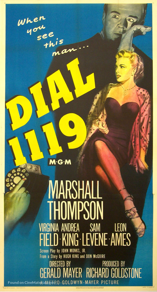 Dial 1119 - Movie Poster