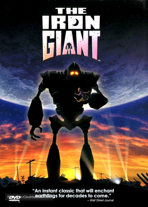 The Iron Giant - DVD cover