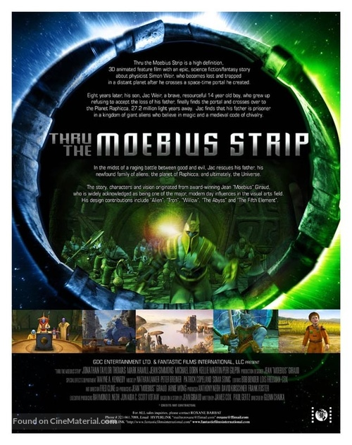 Thru the Moebius Strip - poster