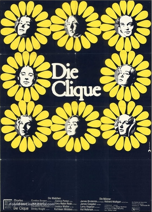 The Group - German Movie Poster