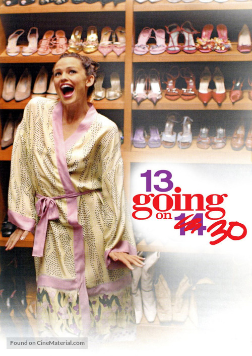 13 Going On 30 - DVD movie cover