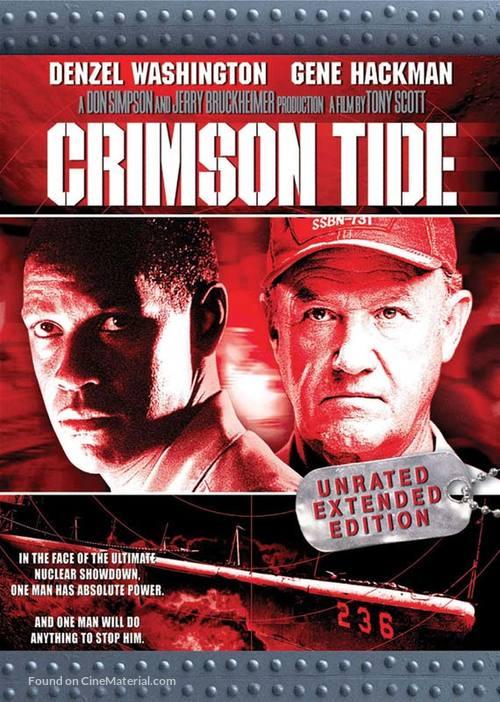 Crimson Tide - DVD cover