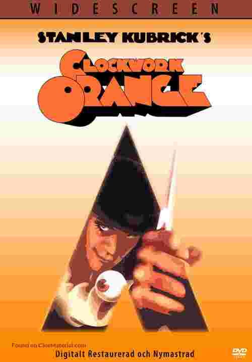 A Clockwork Orange - Swedish Movie Cover