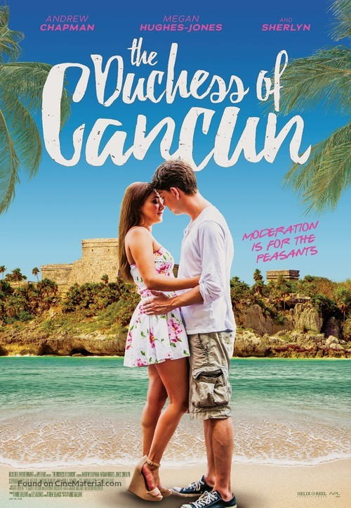 The Duchess of Cancun - Canadian Movie Poster