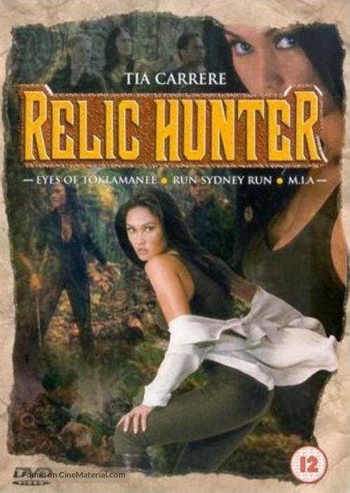 """""""Relic Hunter"""" - British Movie Cover"""