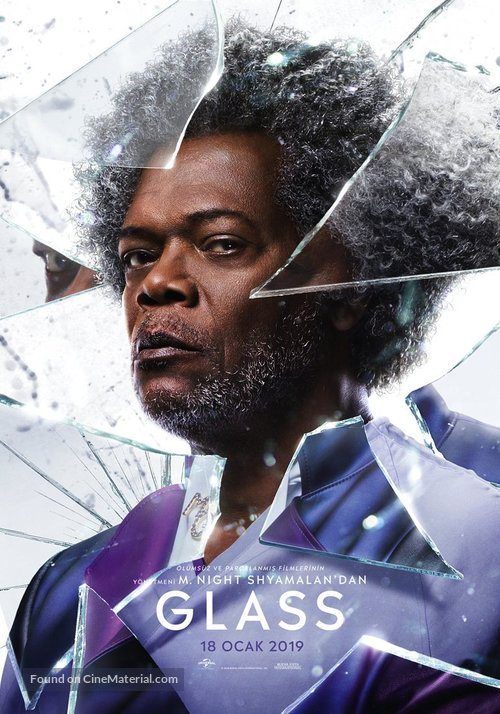 Glass - Turkish Movie Poster