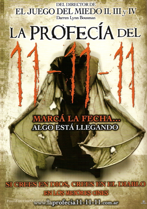 11 11 11 - Argentinian Movie Poster