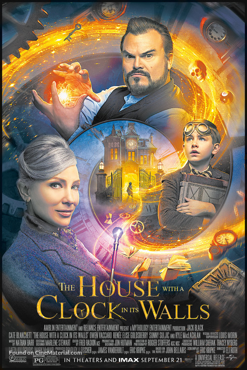 The House with a Clock in its Walls - Movie Poster
