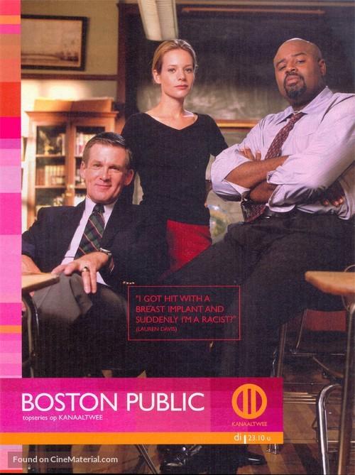 """Boston Public"" - Belgian Movie Poster"