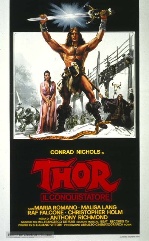Thor il conquistatore - Italian Movie Poster