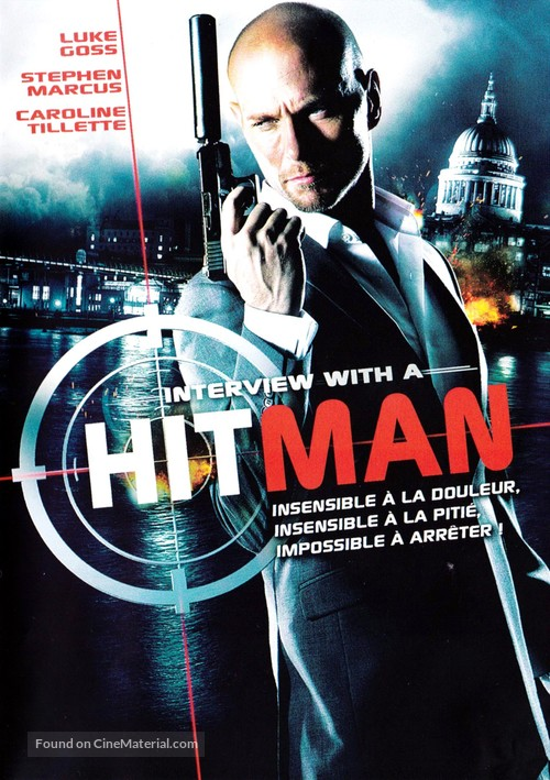 Interview with a Hitman (2012) French dvd movie cover