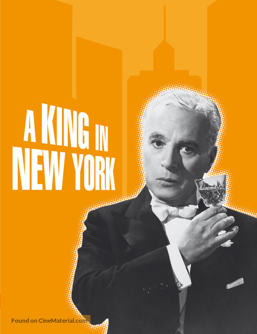 A King in New York - Movie Cover