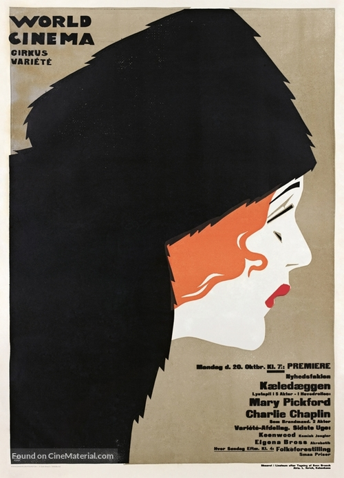 How Could You, Jean? - Danish Movie Poster