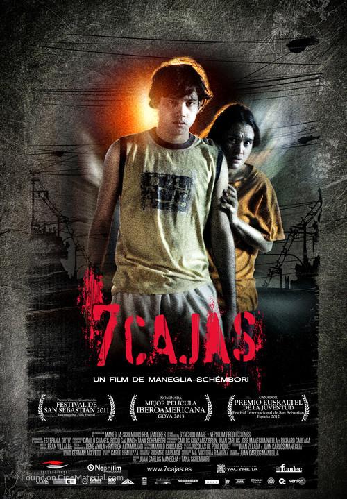 7 Cajas - Spanish Movie Poster