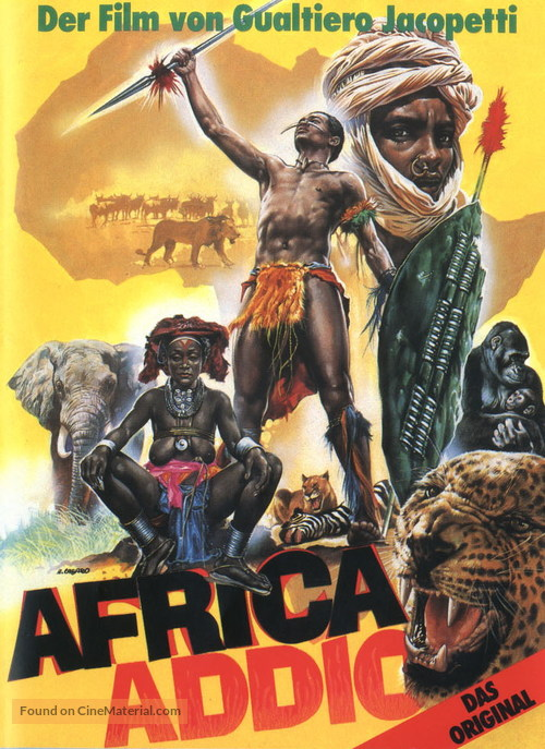 Africa addio - German DVD movie cover
