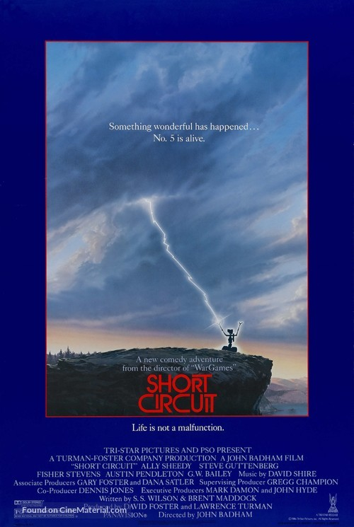 Short Circuit - Theatrical poster