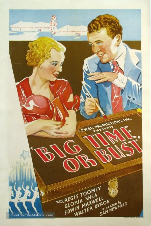 Big Time or Bust - Movie Poster