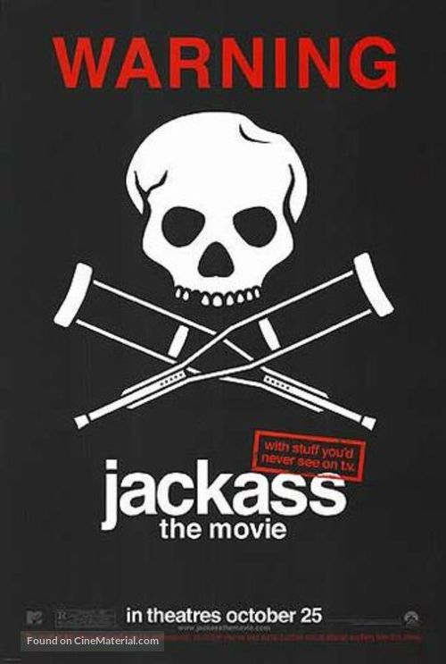 Jackass: The Movie - Movie Poster