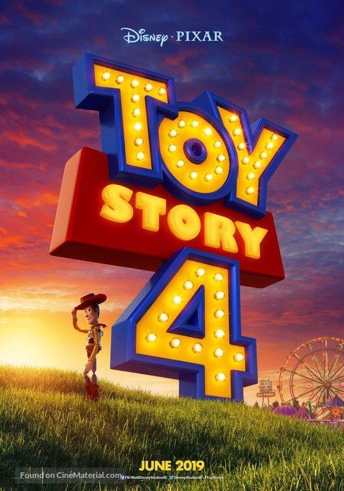 Toy Story 4 - Irish Movie Poster