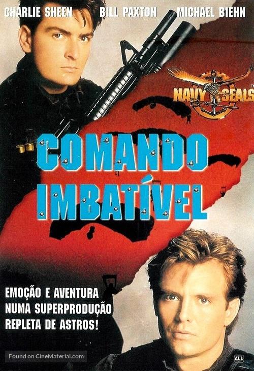Navy Seals - Brazilian DVD movie cover
