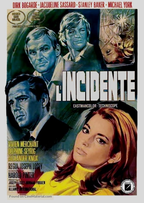 Accident - Italian Movie Poster
