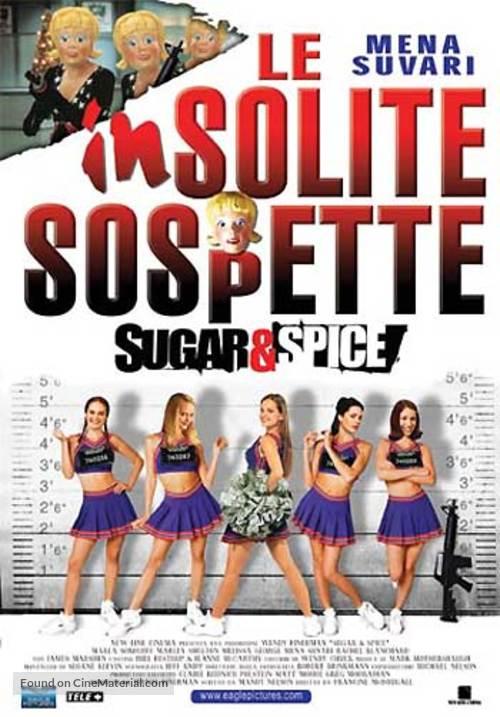 Sugar & Spice - Italian Theatrical poster