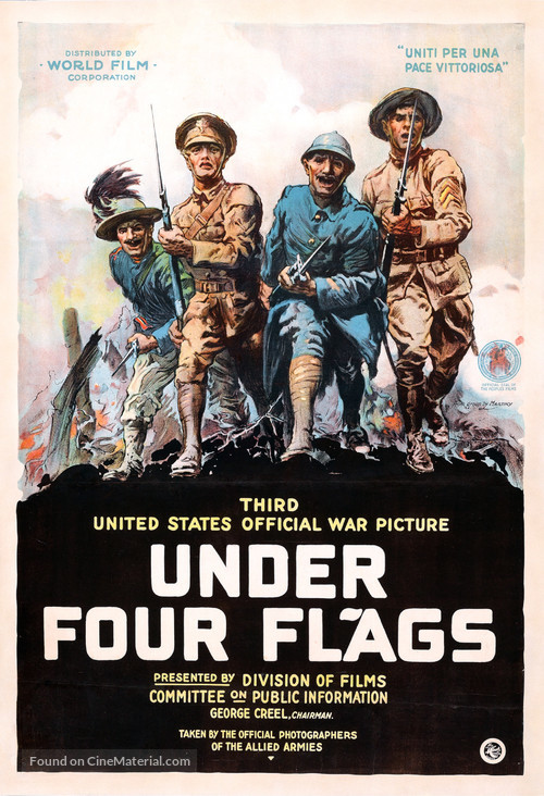 Under Four Flags - Movie Poster