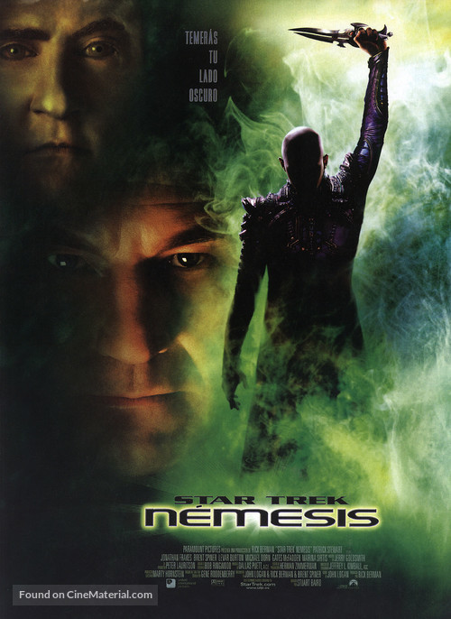 Star Trek: Nemesis - Spanish Movie Poster
