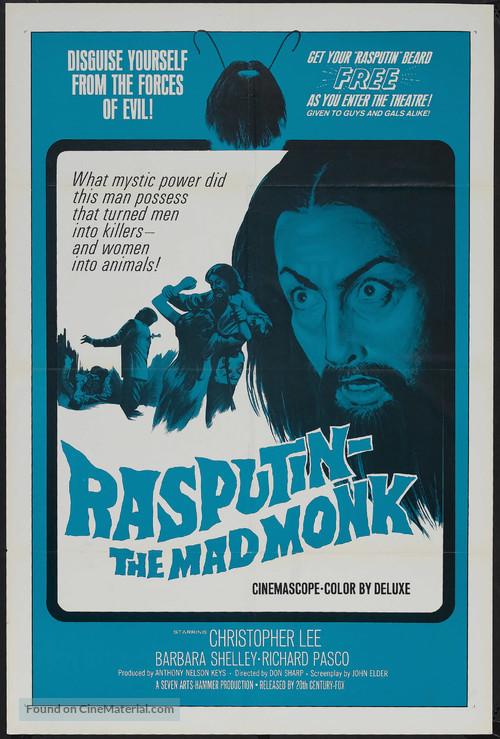Rasputin: The Mad Monk - Movie Poster