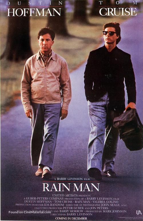 Rain Man - Movie Poster