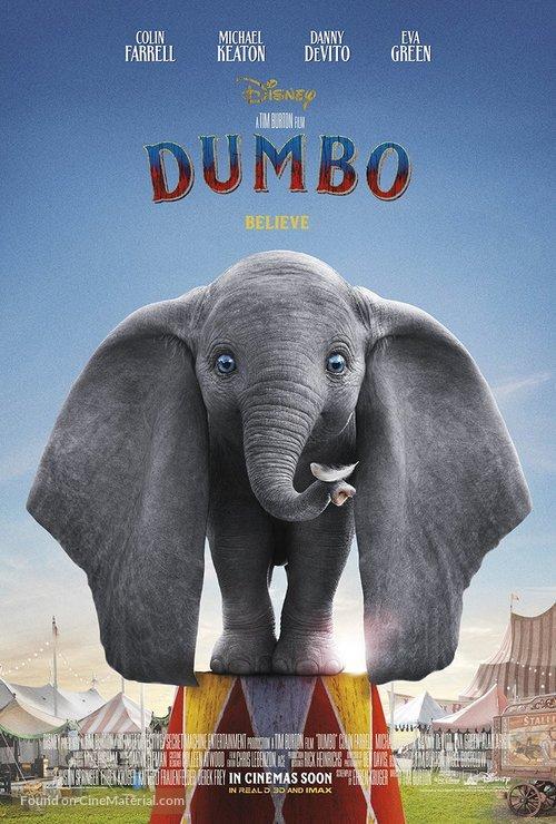 Dumbo - British Movie Poster
