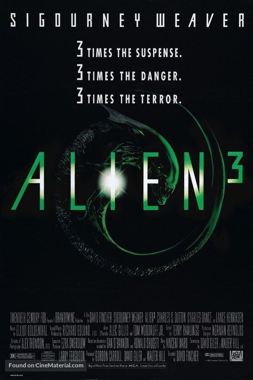 Alien 3 - Movie Poster