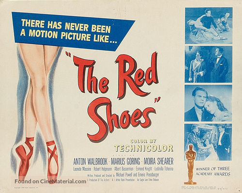 The Red Shoes - Movie Poster