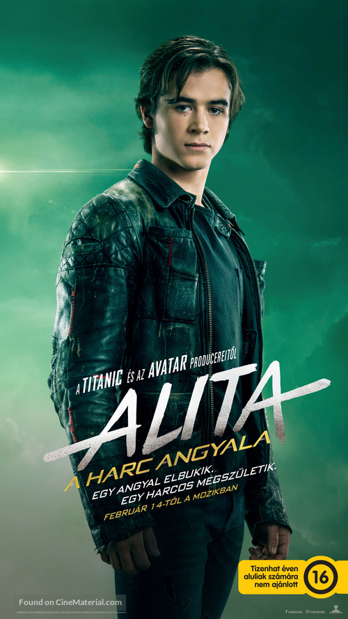 Alita: Battle Angel - Hungarian Movie Poster