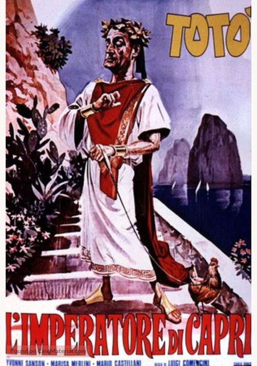 L'imperatore di Capri - Italian Movie Poster