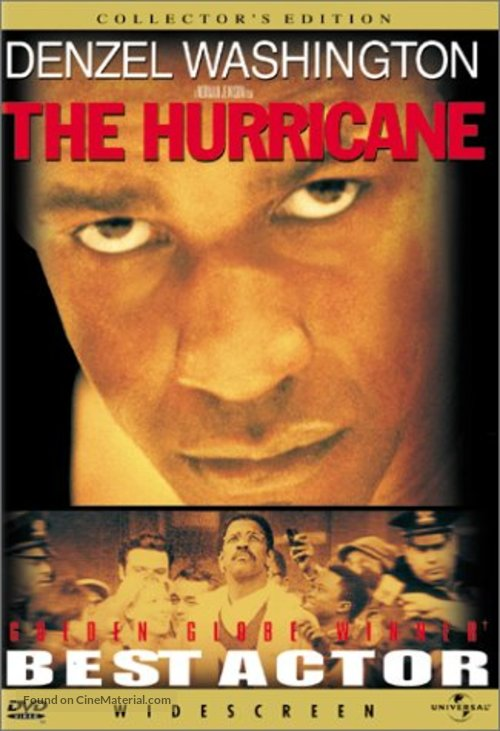 The Hurricane - Movie Cover