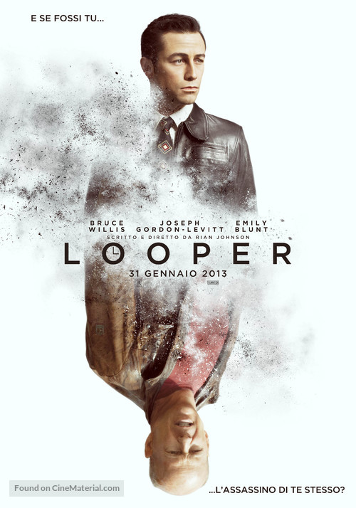 Looper - Italian Movie Poster