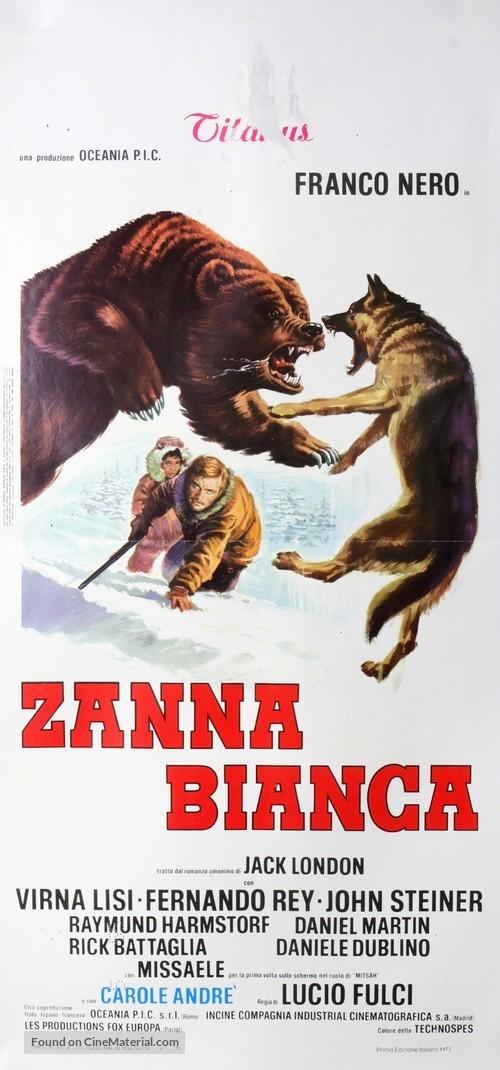 Zanna Bianca - Italian Movie Poster
