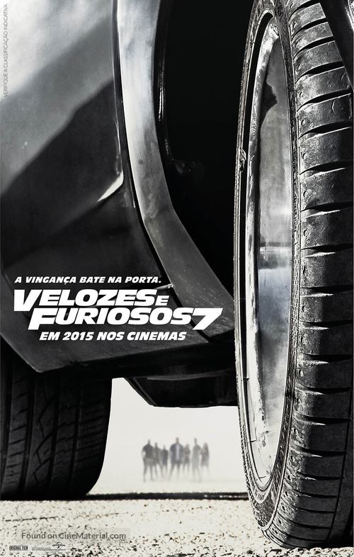 Furious 7 - Brazilian Movie Poster