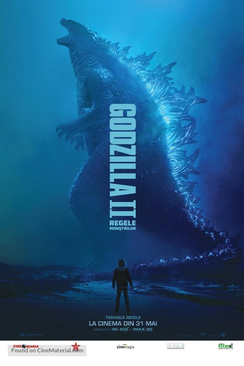 Godzilla: King of the Monsters - Romanian Movie Poster