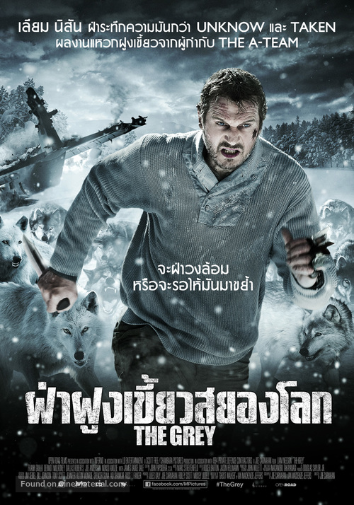 The Grey Thai Movie Poster