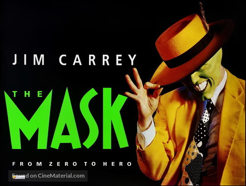 The Mask - British Movie Poster
