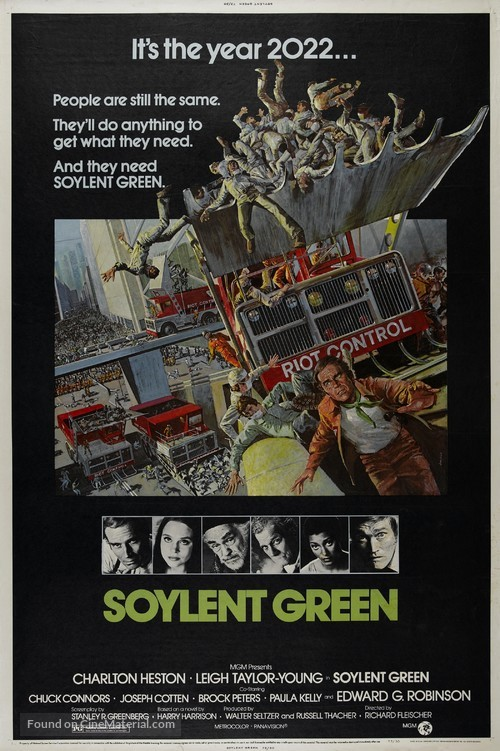Soylent Green - Movie Poster