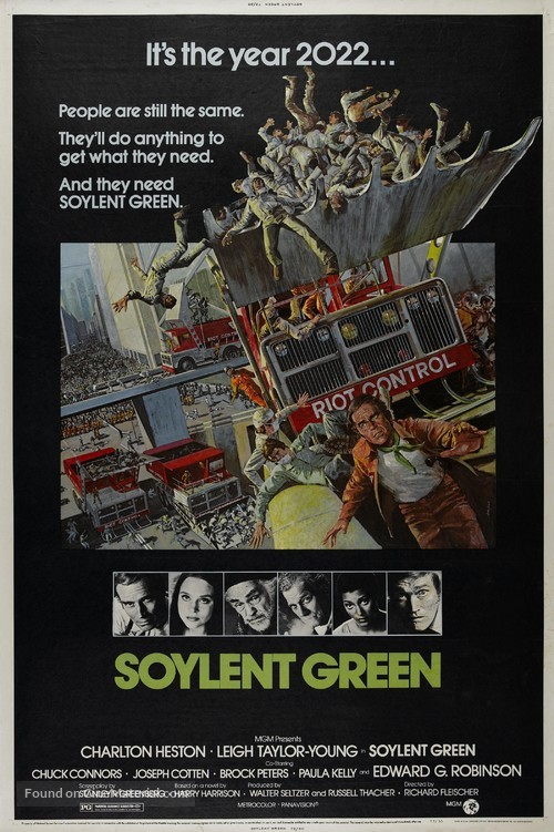 Soylent Green - Movie Poster