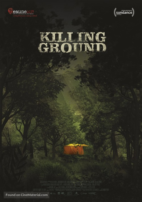 Killing Ground - French Movie Poster