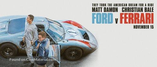 Ford v. Ferrari - Movie Poster