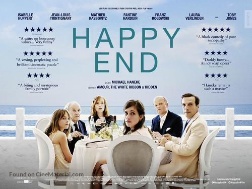 Happy End - British Movie Poster